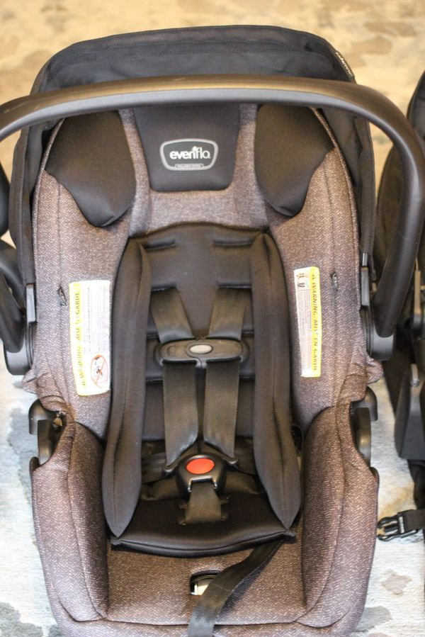 Evenflo Infant Car Seat with Base and Stroller