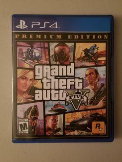PS4/PS5 Grand Theft Auto V for Sale in Pomona,  CA