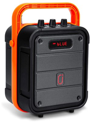 Portable Bluetooth Speaker System with Adjustable Strap, Wireless Stereo Pairing with Karaoke for Sale in Cumming, GA