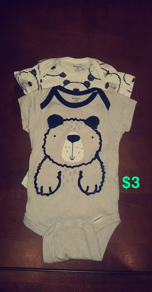 3-6 month onsies for Sale in Dublin, CA