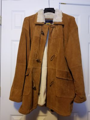 Sheepskin coat mint condition men's XL for Sale in Cadillac, MI