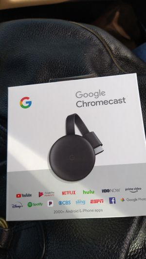 Google chromecast for Sale in Aberdeen, WA