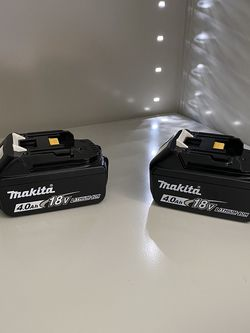 Makita 4.0 Battery ( Qty. Two ) for Sale in Vancouver,  WA