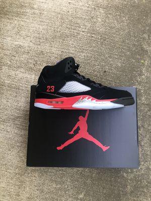 Jordan 5 top 3 retro Nike sz 12 13 for Sale in Rockville, MD