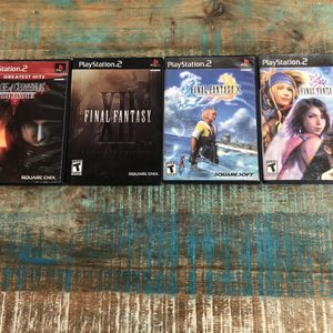 Final fantasy Collection Ps2 All Games CIB for Sale in Hollywood, FL