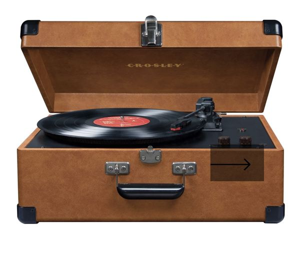 Crosley Leather Record Player