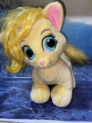 "build a bear BAB disney palace pets rapunzel cat 15"" plush for Sale in Bellflower, CA"