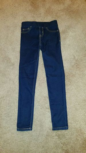 Jeggings girl's clothes dark blue pants for Sale in Murrieta, CA