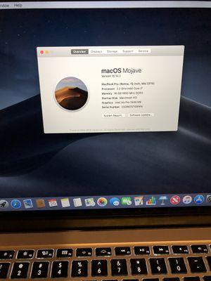 "15"" MacBook Pro retina (2015) for Sale in San Luis Obispo, CA"
