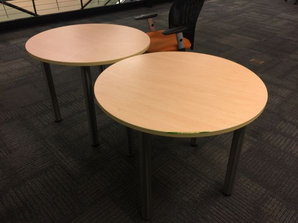 """Cafeteria tables 36"""""""