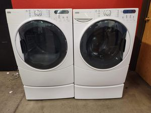 Kenmore washer and electric dryer set good working condition set for $399 for Sale in Golden, CO