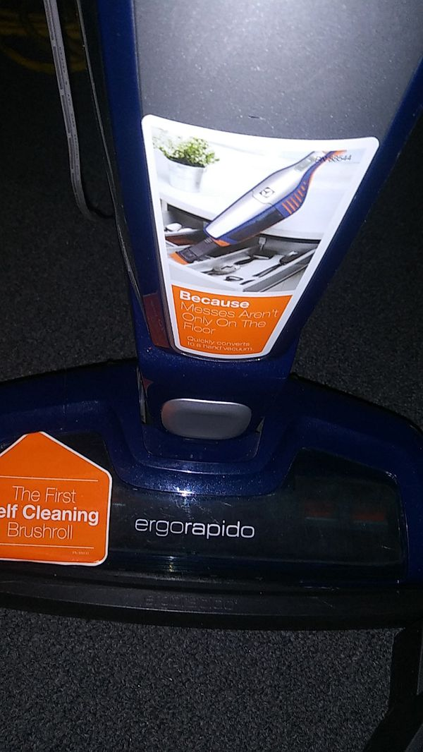 Electrolux blue and red one a purple Bizzle all come with a charger take your pic ready to go