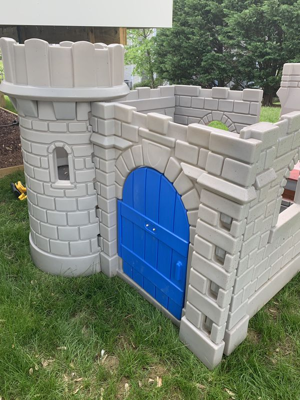 Kids outdoor castle