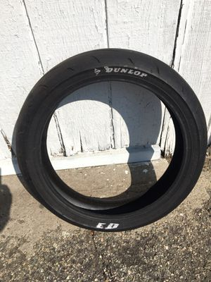 Dunlop supermoto sticky tire 20-70-17 for Sale in Sierra Madre, CA