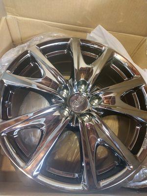 "Brand new..... No center caps...... 18"" Infiniti / Nissan O.e.m Dark chrome / black chrome 18x8.5 all 4 for Sale in Torrance, CA"