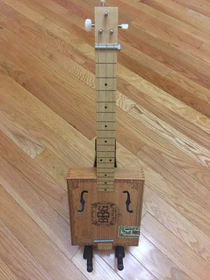 Cigarbox guitar (slider) for Sale in Everett, WA