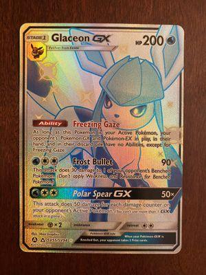 Glaceon GX Shiny Pokemon Hidden Fates Shiny Vault - SV55/SV94 Ultra Rare NM/M for Sale in Snoqualmie, WA
