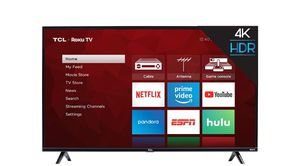 TCL 55' 4K smart tv roku for Sale in Fort Worth, TX