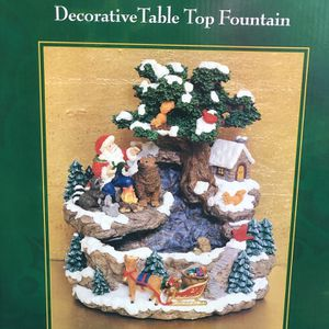 Christmas Fountain For Coffee Table for Sale in Tolleson, AZ