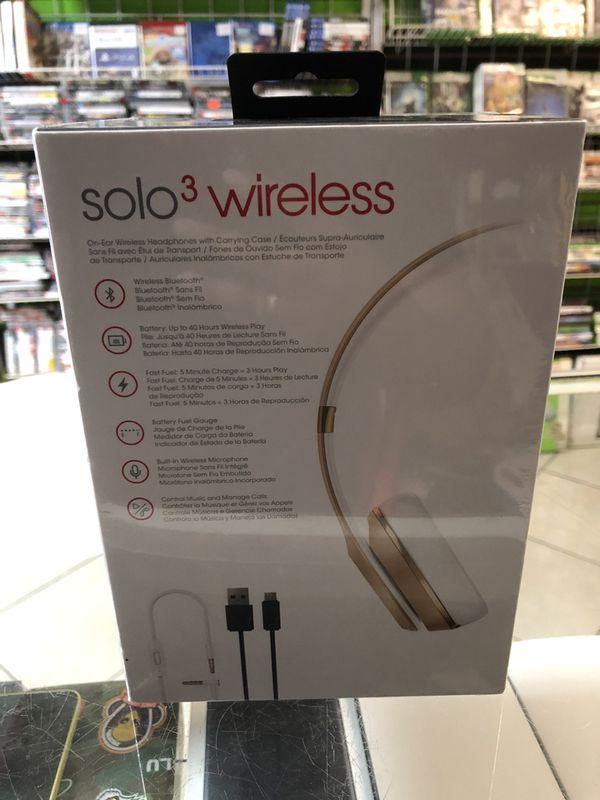 Beats Solo 3 Wireless new