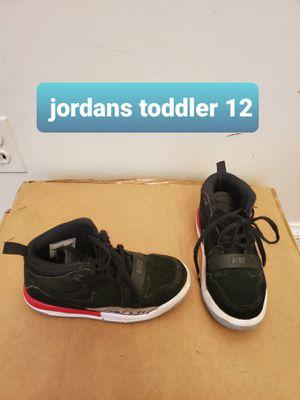 Toddler kids Boys nike Jordan's shoes size 12 for Sale in Falls Church, VA