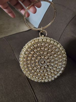 Fancy golden clutch for Sale in Baltimore, MD