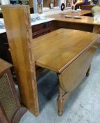 Solid wood antique table with two leaves for Sale in San Diego, CA