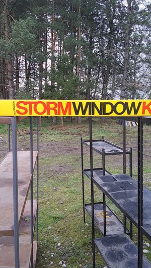 All season Storm Window Kit for Sale in Tacoma, WA