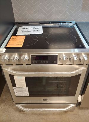 ***NEW LG Studio Stainless Slide In Electric Stove Oven w/ Convection..1 Year Manufacturer Warranty for Sale in Gilbert, AZ