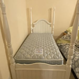 Twin Bed Frame And Mattress $175 for Sale in Aptos, CA