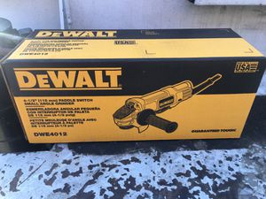 Dewalt grinder brand new for Sale in Bakersfield, CA