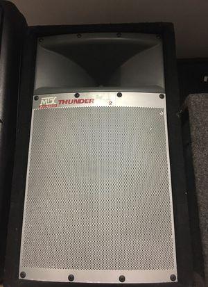 "Mtx audio pro thunder 2 10"" dj speakers ""2 of them"" for Sale in Shelton, CT"