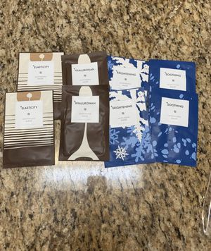 New! Bundle of 8 moisturizing face masks for Sale in Arlington, TX