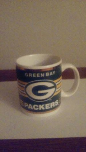 2 different design Green Bay Packer Coffee Cup for Sale in Queen Creek, AZ
