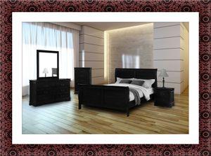 11pc Black bedroom set for Sale in Rockville, MD