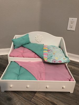 American Girl doll trundle bed for Sale in Riverview, FL
