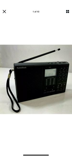 Radioshack Dx-396 Am / Fm Stereo / SW:PLL Portable Receiver / Works for Sale in Costa Mesa, CA