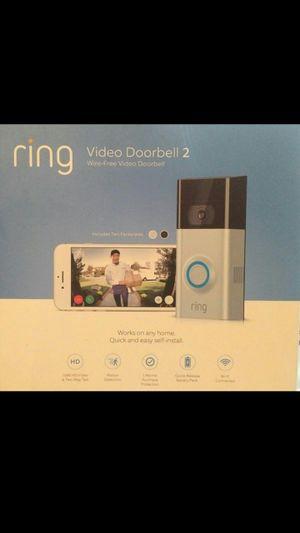 New Ring Doorbell 2, Wireless Security Camera Door Bell 2 1080HD for Sale in Orange, CA