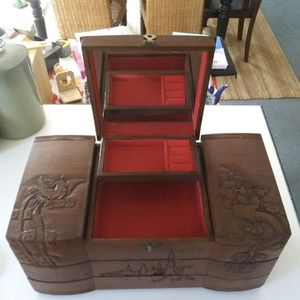 Vintage Chinese Jewelry Box for Sale in Waxhaw, NC