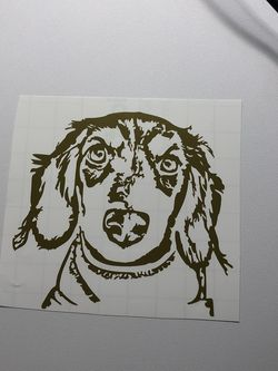 Custom Dog Sticker for Sale in Simi Valley,  CA