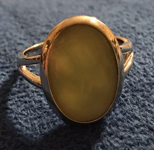 MOTHER OF PEARL (GREEN) STERLING RING for Sale in Pueblo West, CO