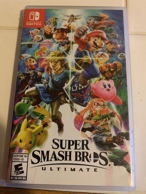 Super smash bro's Nintendo switch for Sale in Montclair, CA