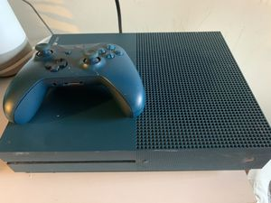 Blue Xbox One S W/ Controller for Sale in Queens, NY