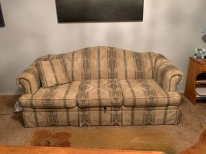 Masquerader Couch with sofa sleeper for Sale in Newberg, OR