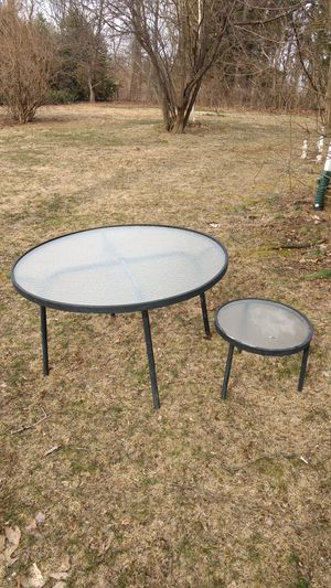 Tropitone Outdoor Acrylic Top Patio Tables for Sale in Damascus, MD