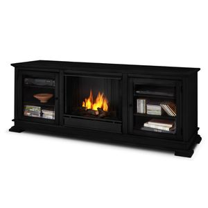 Tv stand with fire place for Sale in Bloomfield, NJ