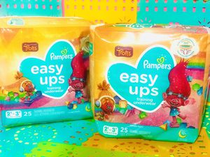 "Bundle "" Pampers * Easy ups Training underwear size # 3T-4T.. for Sale in Bakersfield, CA"
