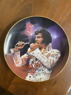 Elvis collectible limited edition glass plate. for Sale in Chagrin Falls, OH