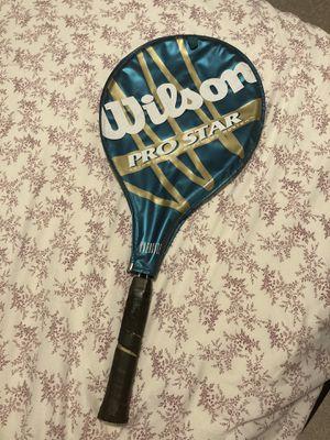 Wilson Pro Star Vintage Tennis Racket for Sale in Ringwood, NJ