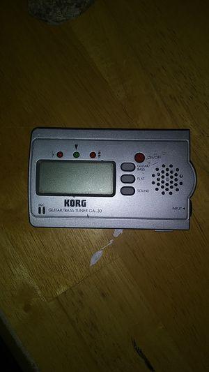 Korg guitar and bass tuner for Sale in Tucson, AZ